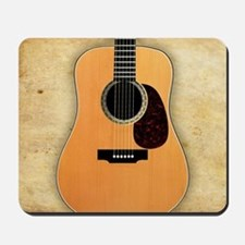 Acoustic Guitar (square) Mousepad
