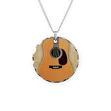 Acoustic Guitar (square) Necklace