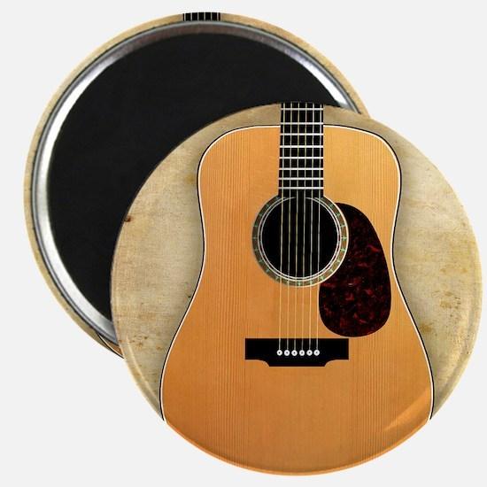 Acoustic Guitar (square) Magnet