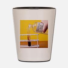 Sulphuric acid reaction Shot Glass
