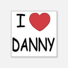 """I heart DANNY Square Sticker 3"""" x 3"""""""