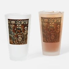 MAYAN COCOA CEREMONY Drinking Glass
