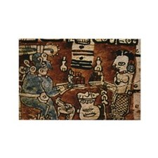 MAYAN COCOA CEREMONY Rectangle Magnet