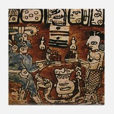 MAYAN COCOA CEREMONY Tile Coaster