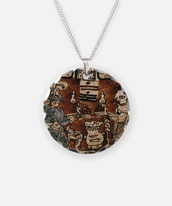 MAYAN COCOA CEREMONY Necklace