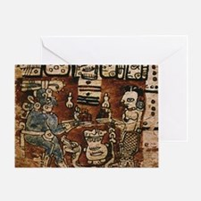 MAYAN COCOA CEREMONY Greeting Card
