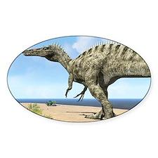 Suchomimus dinosaur, artwork Decal