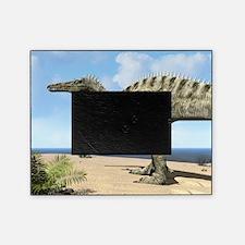 Suchomimus dinosaur, artwork Picture Frame