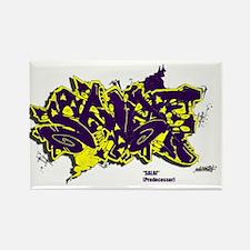Salaf Graffiti Rectangle Magnet
