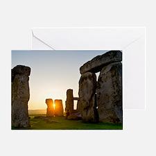 Stonehenge at sunrise Greeting Card