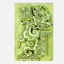 MAYAN SERPENT GOD Postcards (Package of 8)
