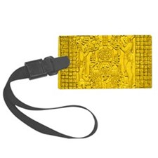 MAYAN TABLET OF THE SUN Luggage Tag
