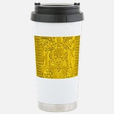 MAYAN TABLET OF THE SUN Stainless Steel Travel Mug