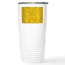 MAYAN TABLET OF THE SUN Travel Mug