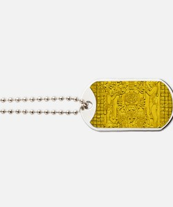 MAYAN TABLET OF THE SUN Dog Tags