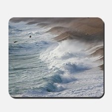 Storm waves at Chesil Beach Mousepad