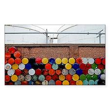 Storage barrels Decal