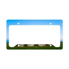 Stonehenge License Plate Holder