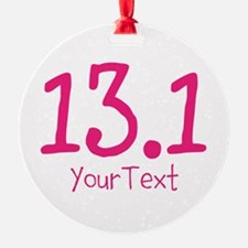 Customize PINK 13.1 Ornament