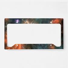 Starbirth region, artwork License Plate Holder