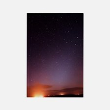 Stars in a night sky Rectangle Magnet