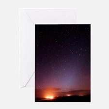 Stars in a night sky Greeting Card