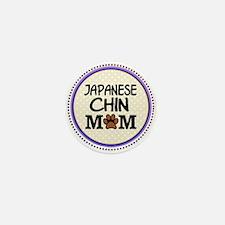 Japanese Chin Dog Mom Mini Button