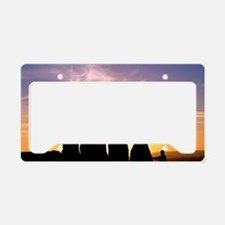 Standing stones, Wales License Plate Holder