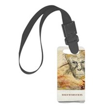 Planet of the apes Luggage Tag