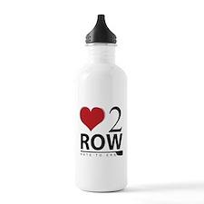 Love 2 Row Water Bottle