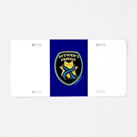 Police memorial Aluminum License Plate