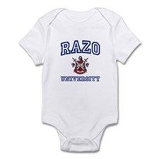 RAZO University Infant Bodysuit