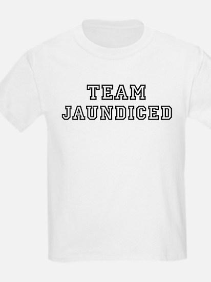 Team JAUNDICED Kids T-Shirt