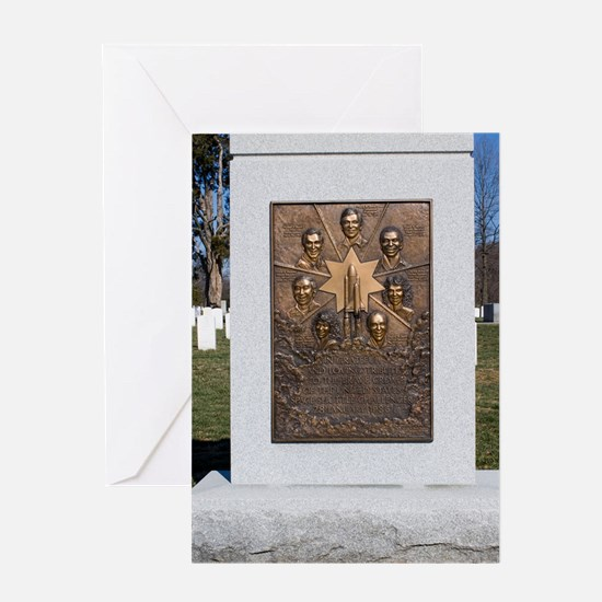 Space Shuttle Challenger memorial Greeting Card