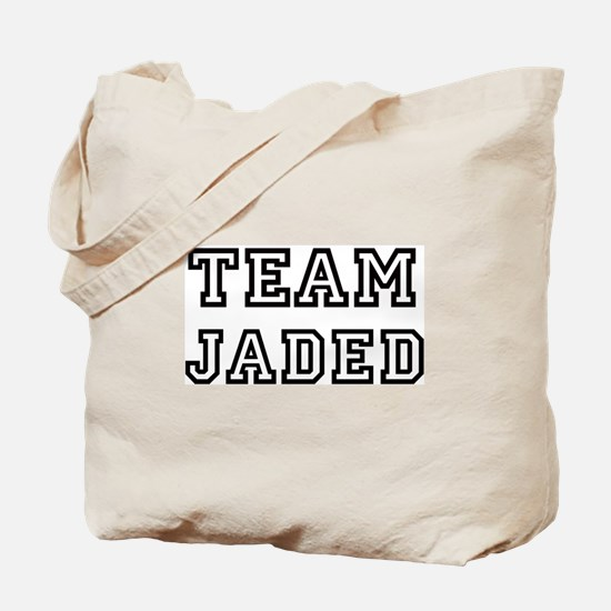 Team JADED Tote Bag