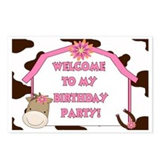 Cow Sign Postcards (Package of 8)