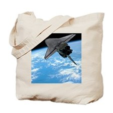 Space shuttle entering Earth orbit Tote Bag