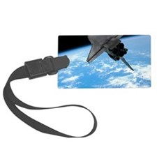 Space shuttle entering Earth orb Luggage Tag