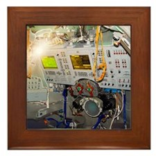 Soyuz-TMA spacecraft cockpit Framed Tile