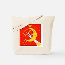 Soviet Moon exploration, artwork Tote Bag