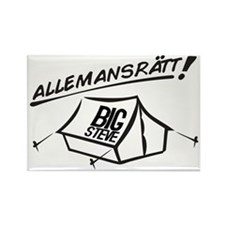 Allemansrätt Rectangle Magnet