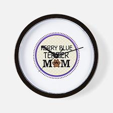 Kerry Blue Terrier Dog Mom Wall Clock