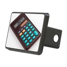 Solar-powered calculator Hitch Cover