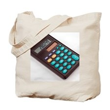 Solar-powered calculator Tote Bag