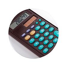 "Solar-powered calculator 3.5"" Button"