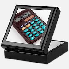 Solar-powered calculator Keepsake Box