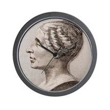 Sophie Germain (1776- 1831) Wall Clock