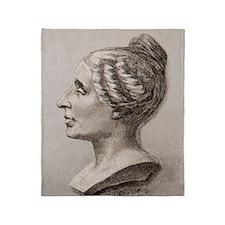 Sophie Germain (1776- 1831) Throw Blanket