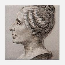 Sophie Germain (1776- 1831) Tile Coaster