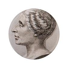 "Sophie Germain (1776- 1831) 3.5"" Button"